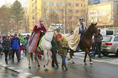 Η τριών Wisemen παρέλαση 2016 Στοκ φωτογραφία με δικαίωμα ελεύθερης χρήσης