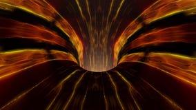 Η τρύπα αποχέτευσης λάβας wormhole διοχετεύει σηράγγων ζωτικότητας δροσερό συμπαθητικό όμορφο 4k υποβάθρου το νέο βίντεο αποθεμάτ διανυσματική απεικόνιση