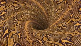 Η τρύπα αποχέτευσης Snakeskin blackhole wormhole διοχετεύει σηράγγων νέο ποιοτικό εκλεκτής ποιότητας ύφος υποβάθρου ζωτικότητας β ελεύθερη απεικόνιση δικαιώματος