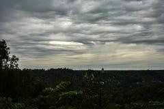 Η τρύπα στον ουρανό Στοκ φωτογραφία με δικαίωμα ελεύθερης χρήσης