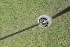Η τρύπα του δικαστηρίου γκολφ Στοκ φωτογραφία με δικαίωμα ελεύθερης χρήσης