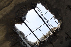 Η τρύπα στοκ φωτογραφία