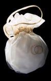 η τσάντα χτυπά το γάμο Στοκ Φωτογραφίες