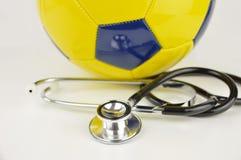 Η υγεία ποδοσφαίρου στοκ φωτογραφία με δικαίωμα ελεύθερης χρήσης