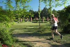 η υγεία συνεχίζει το τρέξ&io Στοκ Εικόνες