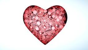 Η υγιής καρδιά από τα εργαλεία Έννοια ανατομίας τρισδιάστατη απόδοση Απεικόνιση αποθεμάτων
