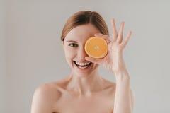 Η υγιής κατανάλωση σας καθιστά όμορφους Στοκ Εικόνες