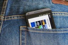 Η υπηρεσία Flickr προορίζεται για την αποθήκευση και την πιό πρόσφατη χρήση από τη χρήση Στοκ φωτογραφία με δικαίωμα ελεύθερης χρήσης