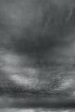 Η δυσοίωνη θύελλα καλύπτει σαν armageddon. Στοκ φωτογραφία με δικαίωμα ελεύθερης χρήσης