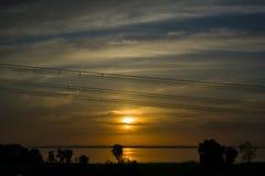 Η υψηλή σταθερότητα της χώρας είναι η ανάπτυξη του ηλεκτρικού Στοκ φωτογραφίες με δικαίωμα ελεύθερης χρήσης