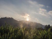 Η υψηλή άποψη βουνών στοκ φωτογραφίες με δικαίωμα ελεύθερης χρήσης