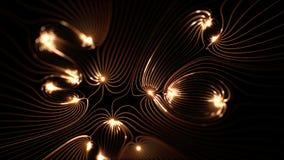 Η υψηλή ανάλυση περιτυλίχτηκε prefectly μήκος σε πόδηα των μαγνητικών πεδίων