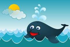 Η φάλαινα Στοκ εικόνες με δικαίωμα ελεύθερης χρήσης
