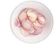 Η φέτα έκοψε το κρεμμύδι VII ύφους Στοκ εικόνες με δικαίωμα ελεύθερης χρήσης