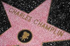 η φήμη hollywood Los της Angeles δηλώνει τον ενωμένο περίπατο Στοκ Εικόνα