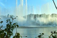 Η φαντασία το λούνα παρκ Efteling Παρουσιάστε των πηγών στοκ εικόνες με δικαίωμα ελεύθερης χρήσης