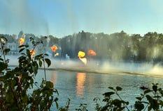 Η φαντασία το λούνα παρκ Efteling Παρουσιάστε των πηγών στοκ φωτογραφίες με δικαίωμα ελεύθερης χρήσης