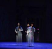 Η φανταστικός-δεύτερη πράξη των γεγονότων δράμα-Shawan χορού του παρελθόντος στοκ φωτογραφίες