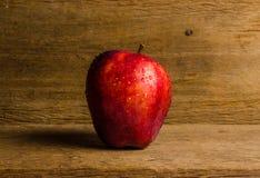 Η φρέσκια κόκκινη Apple Στοκ Φωτογραφίες