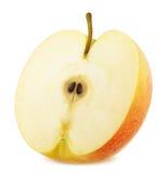 Η φρέσκια ώριμη Apple που απομονώνεται στο άσπρο υπόβαθρο Στοκ εικόνα με δικαίωμα ελεύθερης χρήσης