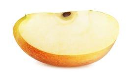 Η φρέσκια ώριμη Apple που απομονώνεται στο άσπρο υπόβαθρο Στοκ φωτογραφίες με δικαίωμα ελεύθερης χρήσης