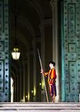 Η φρουρά Βατικάνου Στοκ φωτογραφία με δικαίωμα ελεύθερης χρήσης