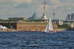 Η φυλή για την ευρωπαϊκή ναυσιπλοΐα Champions League από 11 έως 13 Στοκ Εικόνες