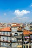 Η φυσική άποψη της πόλης του Πόρτο στοκ εικόνες