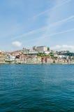 Η φυσική άποψη της πόλης του Πόρτο στοκ φωτογραφία