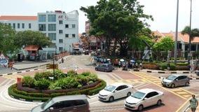 Η φυσική άποψη της Malacca πόλης, άνθρωποι μπορεί βλέπω? εξερεύνηση γύρω από το φιλμ μικρού μήκους