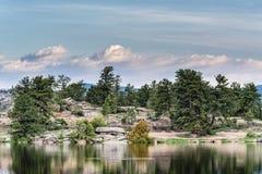 Η φυσική ομορφιά των δύσκολων βουνών του Κολοράντο - ανατολή στο Λ Στοκ φωτογραφίες με δικαίωμα ελεύθερης χρήσης