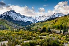 Η φυσική ομορφιά των δύσκολων βουνών του Κολοράντο στο Ντάλλας Στοκ φωτογραφίες με δικαίωμα ελεύθερης χρήσης
