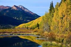 Η φυσική ομορφιά των δύσκολων βουνών του Κολοράντο Στοκ φωτογραφία με δικαίωμα ελεύθερης χρήσης
