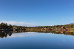 Η φυσική ομορφιά των δύσκολων βουνών του Κολοράντο Στοκ Εικόνα
