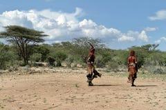 Η φυλή Hamar στην κοιλάδα Omo της Αιθιοπίας Στοκ εικόνες με δικαίωμα ελεύθερης χρήσης