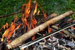 Η φωτιά στοκ φωτογραφία με δικαίωμα ελεύθερης χρήσης