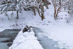 Η φωτογραφία παίρνει μια φωτογραφία το χειμώνα Στοκ φωτογραφίες με δικαίωμα ελεύθερης χρήσης
