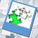 Η φωτογραφία υγείας παρουσιάζει ιατρικό Wellness και μόνη προσοχή διανυσματική απεικόνιση