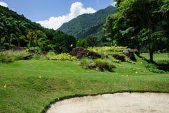 Η φωτογραφία φύσης, γήπεδο του γκολφ και χαλαρώνει στο Καράκας, Βενεζουέλα Στοκ φωτογραφία με δικαίωμα ελεύθερης χρήσης