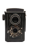 η φωτογραφική μηχανή απομόνωσε το παλαιό εκλεκτής ποιότητας λευκό Στοκ εικόνα με δικαίωμα ελεύθερης χρήσης