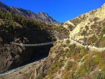 Η φύση του Νεπάλ είναι συναρπαστικά όμορφη στοκ φωτογραφία με δικαίωμα ελεύθερης χρήσης