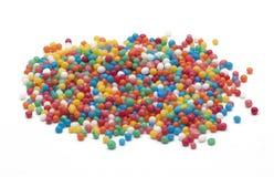 Η χάντρα ψεκάζει για τη διακόσμηση κέικ Στοκ Εικόνα