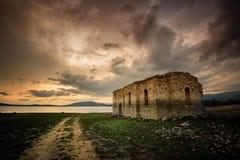 Η χαμένη εκκλησία Στοκ φωτογραφία με δικαίωμα ελεύθερης χρήσης