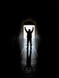 Η χαρά της ελευθερίας Στοκ εικόνες με δικαίωμα ελεύθερης χρήσης