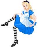 Η χαριτωμένη Alice Στοκ φωτογραφία με δικαίωμα ελεύθερης χρήσης