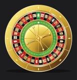 η χαρτοπαικτική λέσχη πελεκά τη σειρά ρουλετών πόκερ Στοκ εικόνα με δικαίωμα ελεύθερης χρήσης