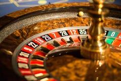 η χαρτοπαικτική λέσχη πελεκά τη σειρά ρουλετών πόκερ Στοκ Φωτογραφίες