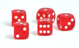 η χαρτοπαικτική λέσχη χωρίζει σε τετράγωνα Στοκ εικόνα με δικαίωμα ελεύθερης χρήσης