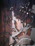 Η χειροτεχνία στον ξύλινο πίνακα Στοκ εικόνα με δικαίωμα ελεύθερης χρήσης