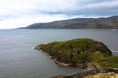 Η χερσόνησος στη θάλασσα Barents Στοκ Εικόνες